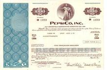 Pepsi Cola Bond Certificate