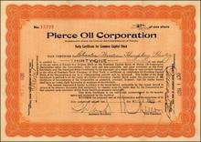 Pierce Oil Corporation 1920