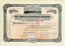 Pioneer Steamship Company 1916 - Ohio