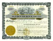 Plymouth Rock Oil Company 1917 - Wyoming