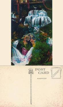 Postcard from the Cascades, Shasta Springs, California