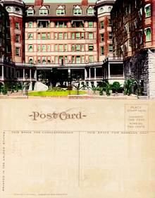 Postcard from the Portland Hotel, Portland, Oregon