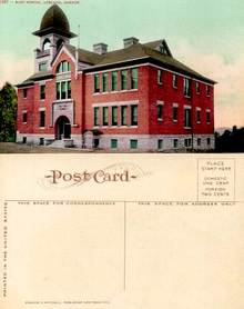 Postcard from the East School, Ashland, Oregon