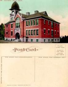 Postcard from the East School, Ashland, Oregon