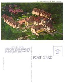 Postcard from Hotel Del Monte, Del Monte, California