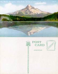 Postcard from Mt. Hood, Oregon