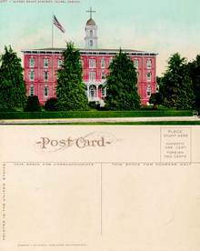 Postcard from the Sacred Heart Academy, Salem, Oregon