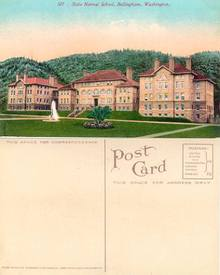 Postcard from the State Normal School Bellingham, Washington (Western Washington College )