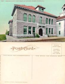 Postcard from the Thurston County Court House and City Hall Olympia, Washington