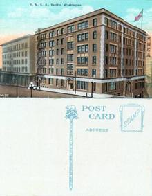 Postcard Y.M.C.A. Seattle, Washington