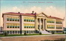 Primary School, Watsonville, California Postcard