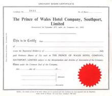 Prince of Wales Hotel Company, Southport. Ltd.