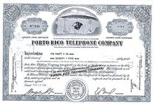 The Porto Rico Telephone Company in 1960's