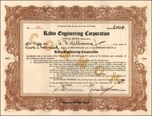 Radio Engineering Corporation 1922