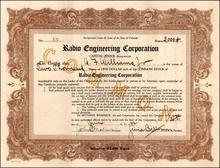 Radio Engineering Corporation 1922