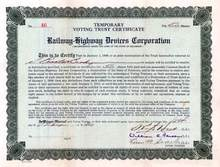 Railway - Highway Devices Corporation 1930