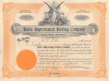 Radio Improvement Holding Company - Tampa, Florida 1930