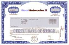 Real Networks -RealJukebox and RealPlayer software company