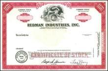 Redman Industries, Inc.