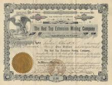 Red Top Extension Mining Company - Arizona Territory