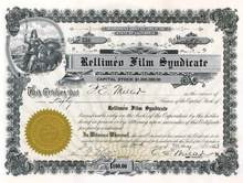 Rellimeo Film Syndicate - Silent Movie Production Company - 1923 California
