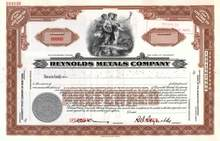 Reynolds Metals Company 1930 - R.S. Reynolds as President