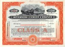 Riverside Cement Company - California Company
