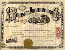 Riverside Improvement Company 1870 - Illinois
