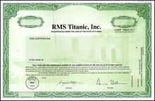RMS Titanic, Inc. - Specimen