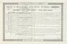 Roanoke Machine Works 1888