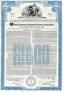 North American Rockwell Overseas Corporation Bond