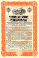 Sacramento Valley Colony Gold Bond