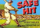 Safe Hit Texas Vegetable Crate Label