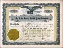 Saint Joseph Union Depot Company 1923
