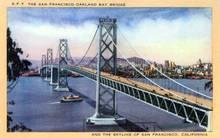 San Francisco Oakland Bay Bridge, San Francisco, California