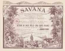 SAVANA 1952