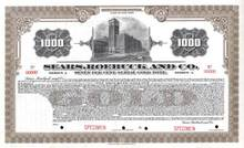 Sears, Roebuck and Co. 1920 - Gold Bond