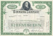 Simmons Bed Company Stock