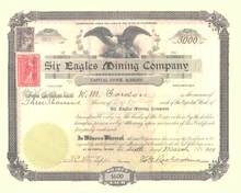 Six Eagles Mining Company 1901 - Washington State
