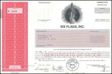 Six Flags, Inc. - Famous Theme Park Company
