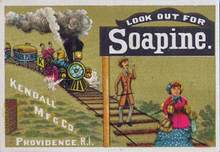 Soapine - Kendall Manufacturing Trade Card 1900