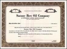 Socony Bow Oil Company