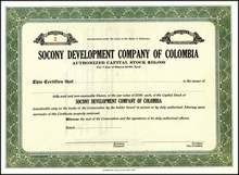 Socony Development Company of Columbia