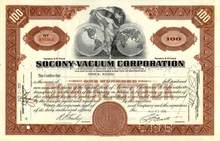 Socony - Vacuum Corporation 1931 ( Early Mobil Oil Company )