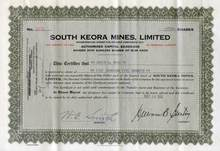 South Keora Mines, Limited