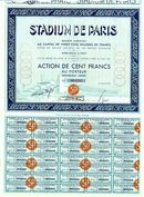 Stadium De Paris Olympic Sports Stadium 1934