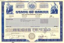 State of Hawaii General Obligation Refunding Bond of 1985