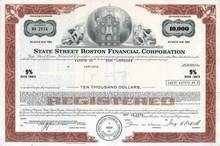 State Street Boston Financial Corporation