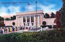 Steinhart Aquarium, Golden Gate Park Postcard