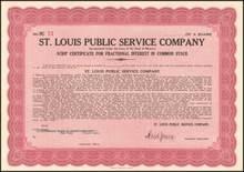 St. Louis Public Service Company